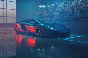 Lamborghini Aventador Dione Forged 4k Wallpaper