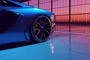 Lamborghini Aventador Dione Forged Wallpaper