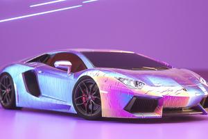 Lamborghini Aventador New Front
