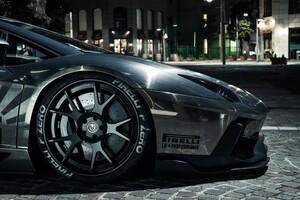 Lamborghini Aventador Pirelli Tyres