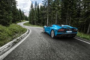 Lamborghini Aventador S 2018 4k
