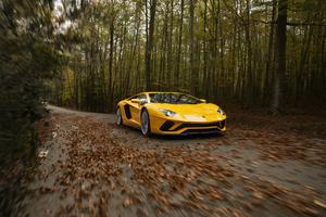 Lamborghini Aventador S 4k Car