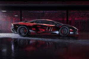 Lamborghini Aventador S By Yohji Yamamoto 10k Wallpaper