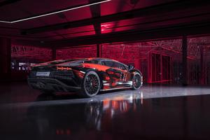 Lamborghini Aventador S By Yohji Yamamoto Wallpaper