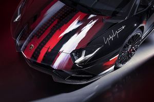 Lamborghini Aventador S Modified By Yohji Yamamoto Wallpaper