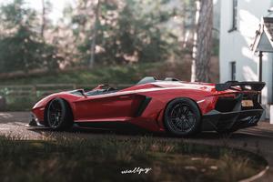 Lamborghini Aventador Sv Forza Horizon 4k