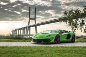 Lamborghini Aventador SVJ 2019 Front
