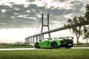 Lamborghini Aventador SVJ 2019 Rear