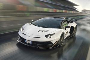 Lamborghini Aventador SVJ 63 2018 4k