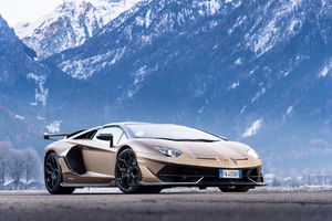 Lamborghini Aventador SVJ Roadster 2019 New Wallpaper