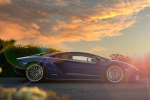 Lamborghini AventadorS 5k Wallpaper