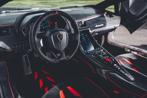 Lamborghini Centenario Coupe Interior