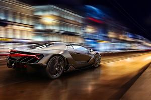 Lamborghini Centenario Digital Art Wallpaper