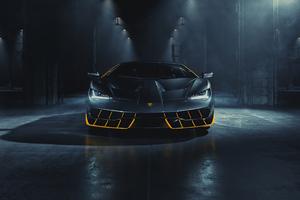 Lamborghini Centenario Front Wallpaper