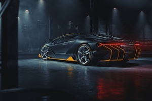 Lamborghini Centenario Rear 2020 Wallpaper