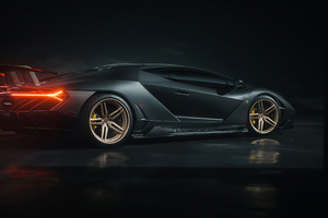 Lamborghini Centenario Rear New