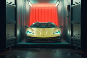 Lamborghini Centenario Roadster Cgi 4k Wallpaper