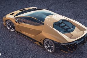 Lamborghini Centenario Upper View