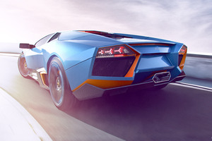 Lamborghini CGI Artwork Wallpaper