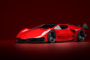 Lamborghini Countach 4k