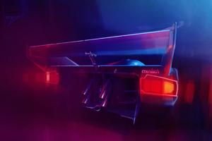 Lamborghini Countach Digital Art 4k