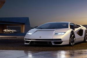 Lamborghini Countach Lpi 800 Front View 5k Wallpaper
