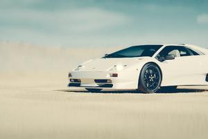 Lamborghini Diablo Front