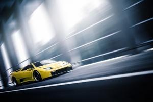 Lamborghini Diablo In Motion