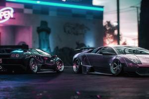 Lamborghini Diablo LM And Murcielago