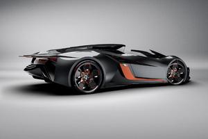Lamborghini Diamante Concept Side View