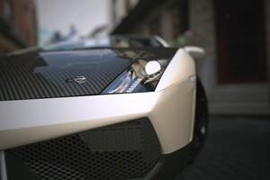 Lamborghini Front View Matte