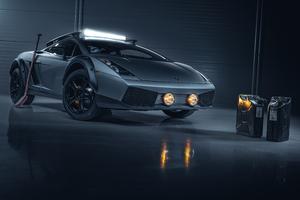 Lamborghini Gallardo 5k Wallpaper