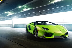 Lamborghini Green Wallpaper