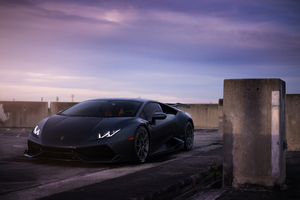 Lamborghini Huracan Adv Wheels 8k Wallpaper