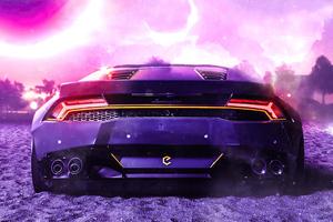 Lamborghini Huracan Cgi 3d Wallpaper
