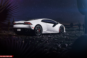 Lamborghini Huracan CGI Rear