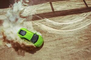 Lamborghini Huracan Drifting Wallpaper