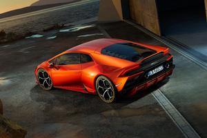 Lamborghini Huracan EVO 2019 Rear 4k