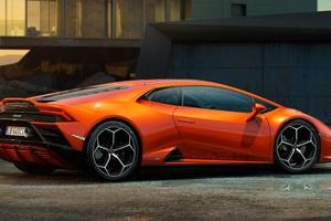 Lamborghini Huracan Evo Coupe 5k Wallpaper