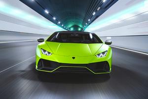 Lamborghini Huracan EVO Fluo Capsule 2020 4k Wallpaper