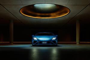 Lamborghini Huracan Evo Front 2021 Wallpaper