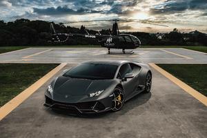 Lamborghini Huracan Evo Helicopter