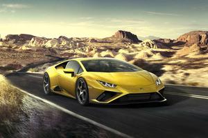 Lamborghini Huracan EVO RWD 2020 Wallpaper