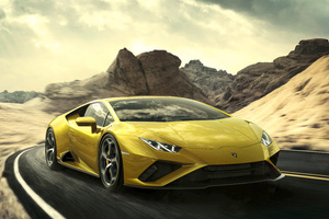 Lamborghini Huracan EVO RWD 2020 New Wallpaper
