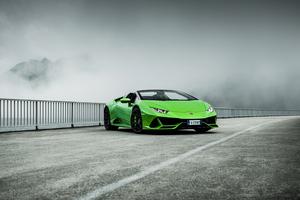Lamborghini Huracan Evo Spyder 2020 4k