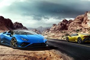 Lamborghini Huracan Evo Spyder 2020 Wallpaper