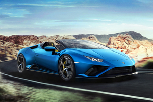 Lamborghini Huracan Evo Spyder 2020 5k