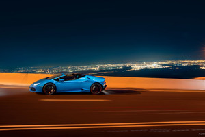 Lamborghini Huracan LP 610 4 Spyder 2018 Side View