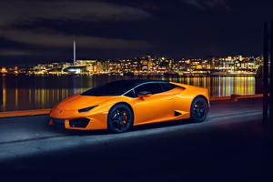Lamborghini Huracan LP580 Night Photoshoot