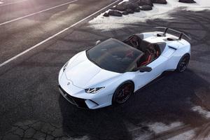 Lamborghini Huracan Perfomante Spyder Front 4k